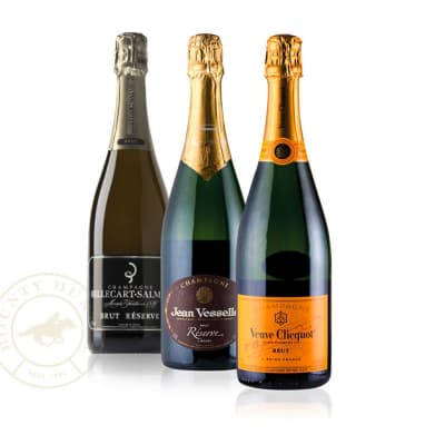 Sparkling Personality Champagne Gift Trio