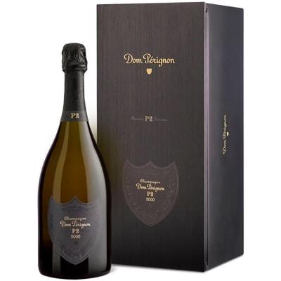 Dom Perignon P2 Brut Champagne in Gift Box