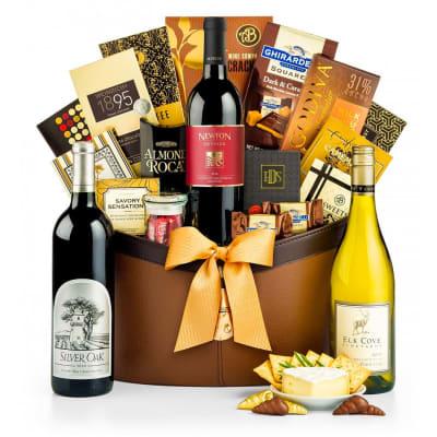 The Gold Standard —Silver Oak Alexander Valley Gift Basket