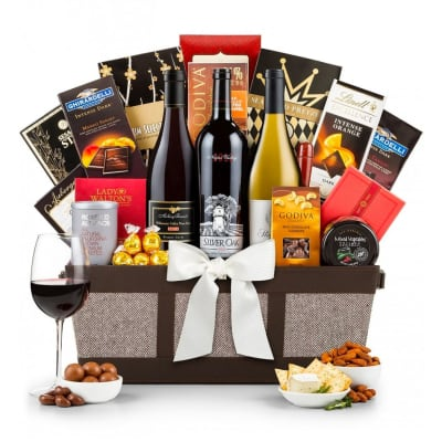 Silver Oak Napa Valley Cabernet Basket