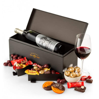 Silver Oak Alexander Valley Wine & Chocolate Gift Box