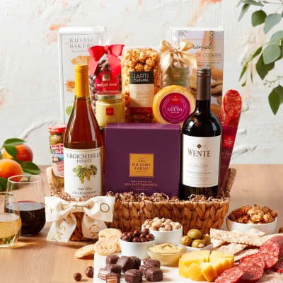California Vineyard Wine Gift Basket
