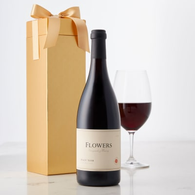Flowers Sonoma Coast Pinot Noir in a Gift Box