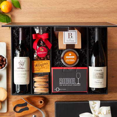Sommelier's Finest Napa Valley Wine Gift Basket in a Box