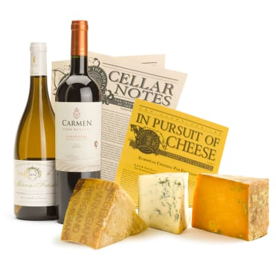 International Wine & Cheese Gift