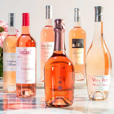 Six Bottles of Rosé from Martha Stewart Wine