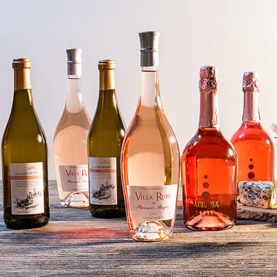 Six Bottles of Sweet Wine from Martha Stewart Wine