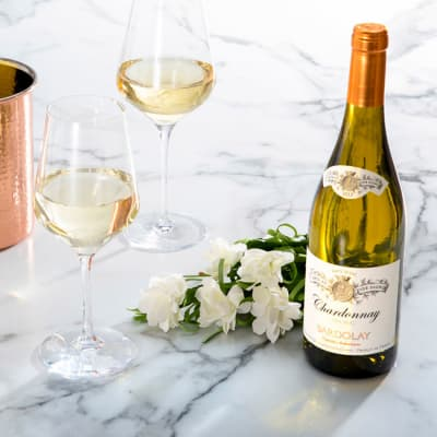 Four Bottles of French Chardonnay from Martha Stewart Wine