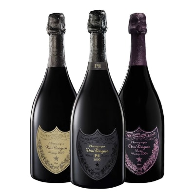 Dom Perignon Trio Collection
