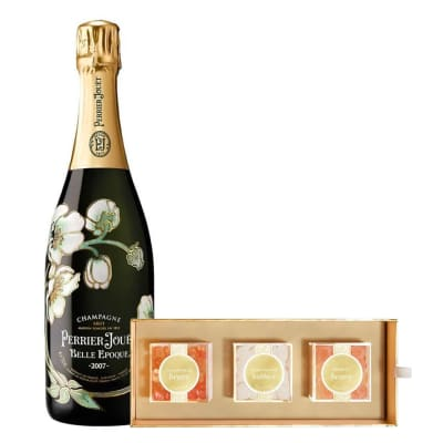 Perrier-Jouët Belle Epoque with Sugarfina Bento Box