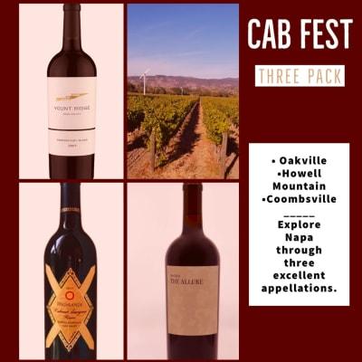 Cab Fest —Napa Valley Cabernet Sauvignon Sampler