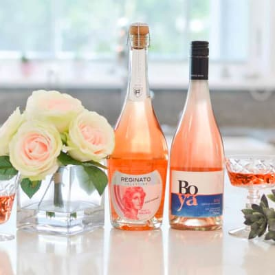 Two-Bottle Gift of Sparkling & Still Rosé