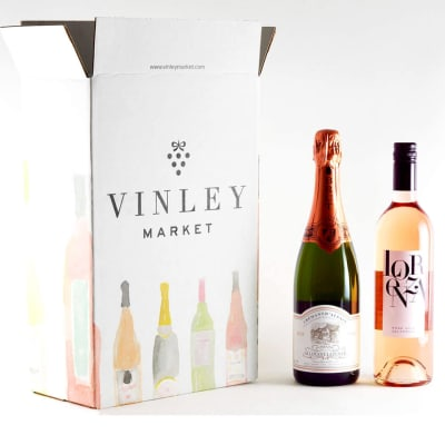 Sparkling & Still Rosé / 3-Month Wine Club Gift