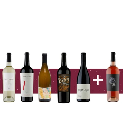 Taste of California Six Bottle Gift — Top Rated California Wine