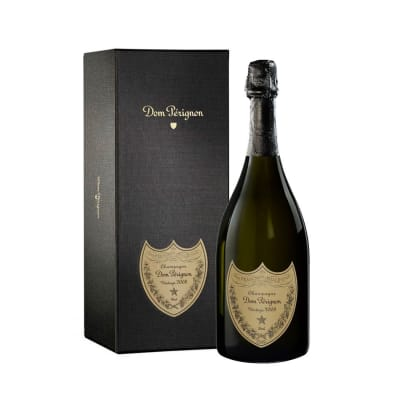 2008 Dom Perignon Brut Champagne with Gift Box