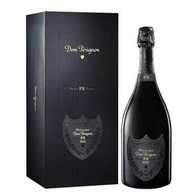 2000 Dom Perignon P2 Brut Champagne with Gift Box