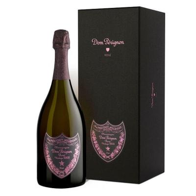 2005 Dom Perignon Brut Champagne Rosé with Gift Box