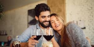 Happy Wine Tasters
