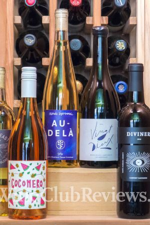 A wine subscription box from Winc