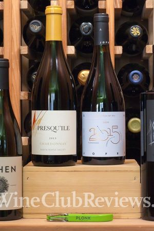 A Wine Subscription Shipment from Plonk Wine Club