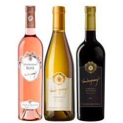 Vanderpump Wine Trio with Online Wine Tasting