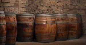 A Winery Barrel Room