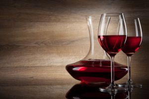 Red Wine Decanter and Glasses