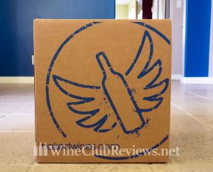 Nakedwines.com Gives Your Wine Wings in their shipping boxes
