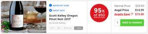 Nakedwines.com Scott Kelley Oregon Pinot Noir 2017 - 95% of 850 Angels would buy again
