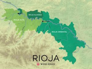 Wine Folly Map of Rioja Spain