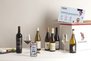 Photo of a Picked by Wine.com subscription box
