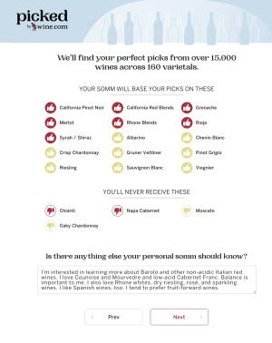 Grape Variety Preferences