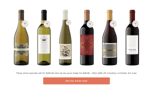 Firstleaf personalized wine recommendations