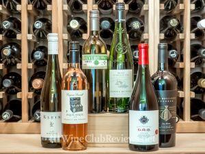 Nakedwines.com wine shipment in cellar June 2019