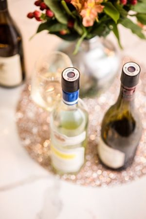 Coravin Screw Caps on Bottles