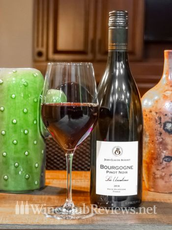 Jean-Claude Boisset Bourgogne Wine Bottle & Glass