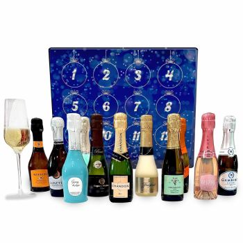 Sparkling Wine Advent Calendar by GiveThemBeer.com