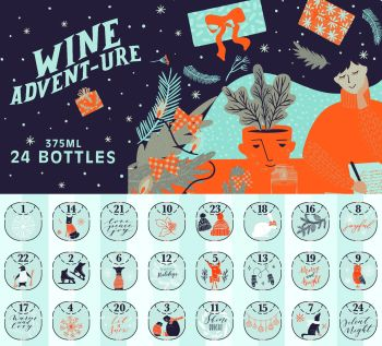 Wine Advent Calendar by Costco