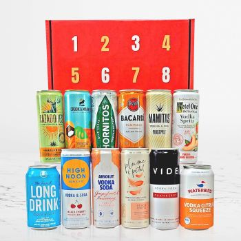 Canned Cocktails Advent Calendar by GiveThemBeer.com