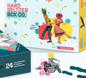 Hard Seltzer Advent Calendar by Hard Seltzer Box Co.