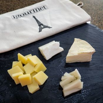 My tasting of the French Cheese Assortment at iGourmet