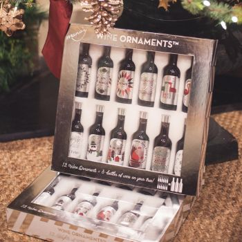 12 Nights of Wine Ornaments by Manos Wine