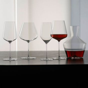 5-Piece Decanter & Wine Glass Set by Zalto Denk'Art