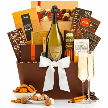 The Royal Champagne Gift Basket