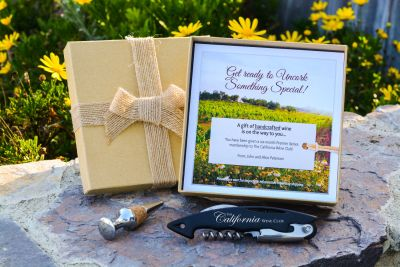 The California Wine Club Gift Package
