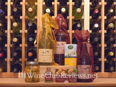 Gold Medal International Series Wine Club Shipment with Adventure Food Package