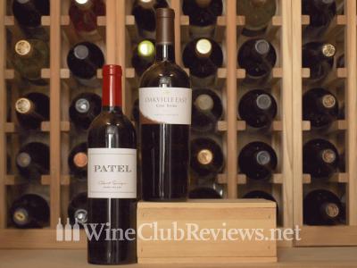 Diamond Wine Club Shipment in Cellar