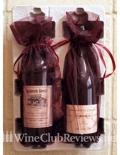 Platinum Wine Club Gift shipment in box