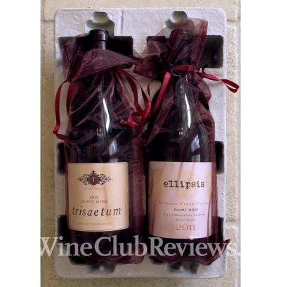 Pinot Noir Wine Club Gift shipment in box