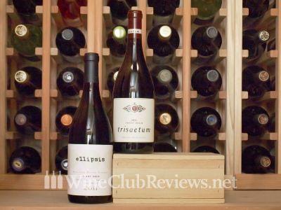 Pinot Noir Wine Club shipment in Cellar